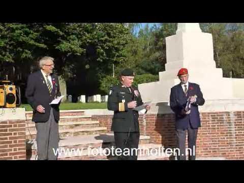 Canadese Veteranen In Holten Deel 1