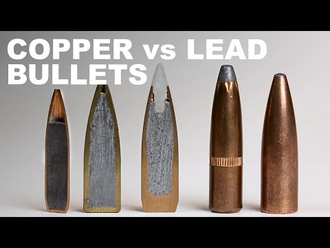 Copper Versus Lead Core Bullets — How They Work