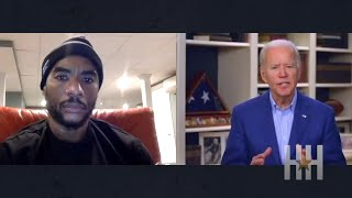 """Joe Biden To Charlamagne: """"You Ain't Black"""" If You Vote For Trump!"""