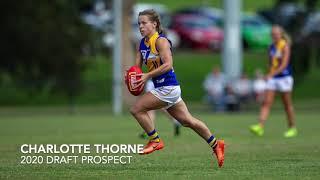 2020 draft prospect - Charlotte Thorne