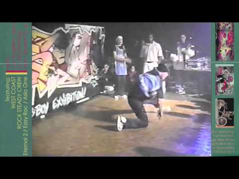 "DJ Asiatic @ 1995 B-Boy Convention ""Elements"" part 2 of 4 w/ Rock Steady Crew"