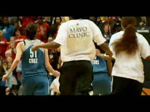 WNBA finals - Maya Moore hit this buzzer beating game winning 3 in game 3