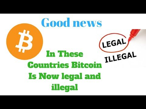 Bitcoin Is Now Legal In These Countries Good News😍