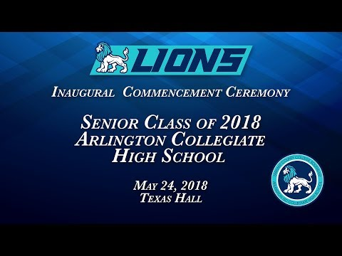 2018 Arlington Collegiate High School Graduation