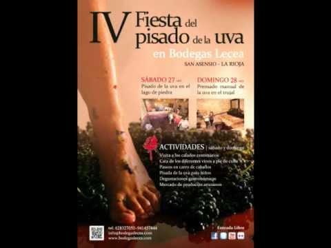 Bodegas Lecea en Onda Cero - Entrevista sobre el pisado de la uva
