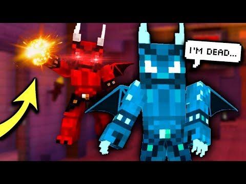 DEMON STONE VS. EVIL DEMON! (Pixel Gun 3D)