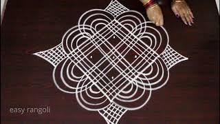 pongal margazhi kolam designs / sankranthi dhanurmasam muggulu / how to draw easy rangoli