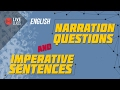 English - Narration Questions and Imperative Sentences [SSC | HSC | Admission]