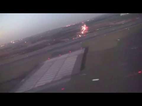 Take-off from Paris Charles de Gaulle Airport, Roissy-en-France, France - October 2014