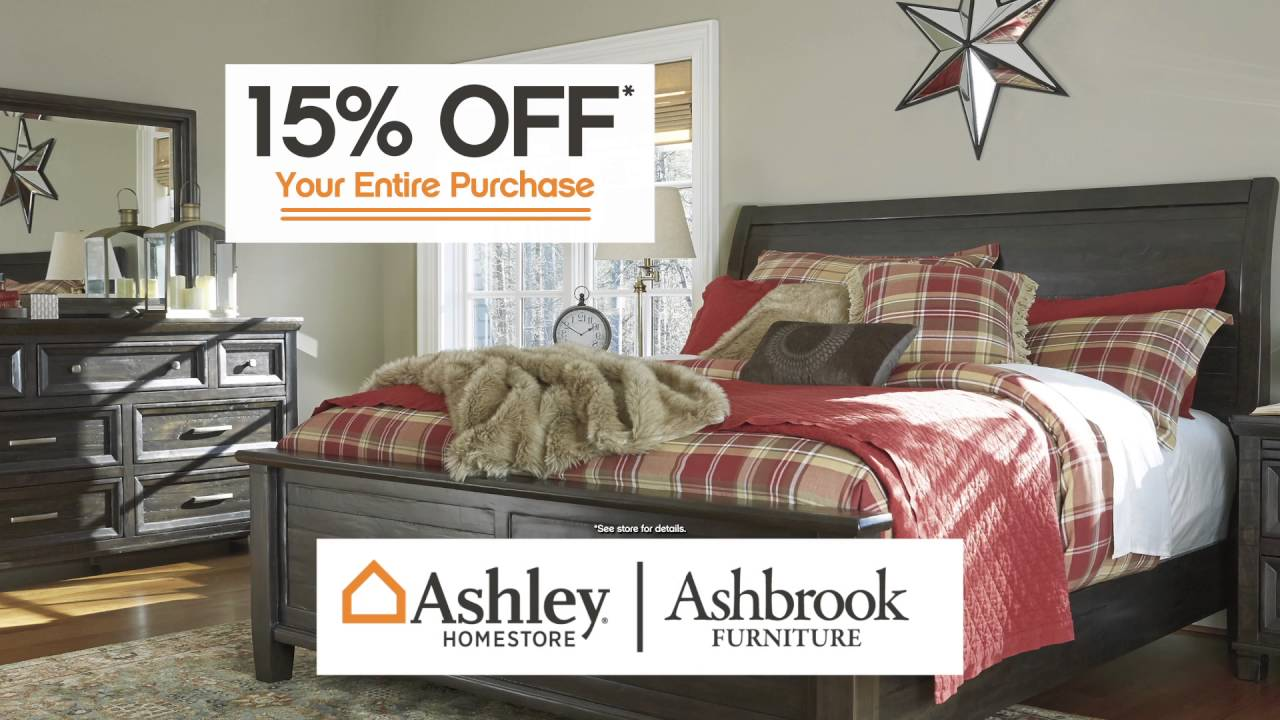 Ashley Home Ashbrook Furniture Labor Day 2016 15 1013 Hd Youtube