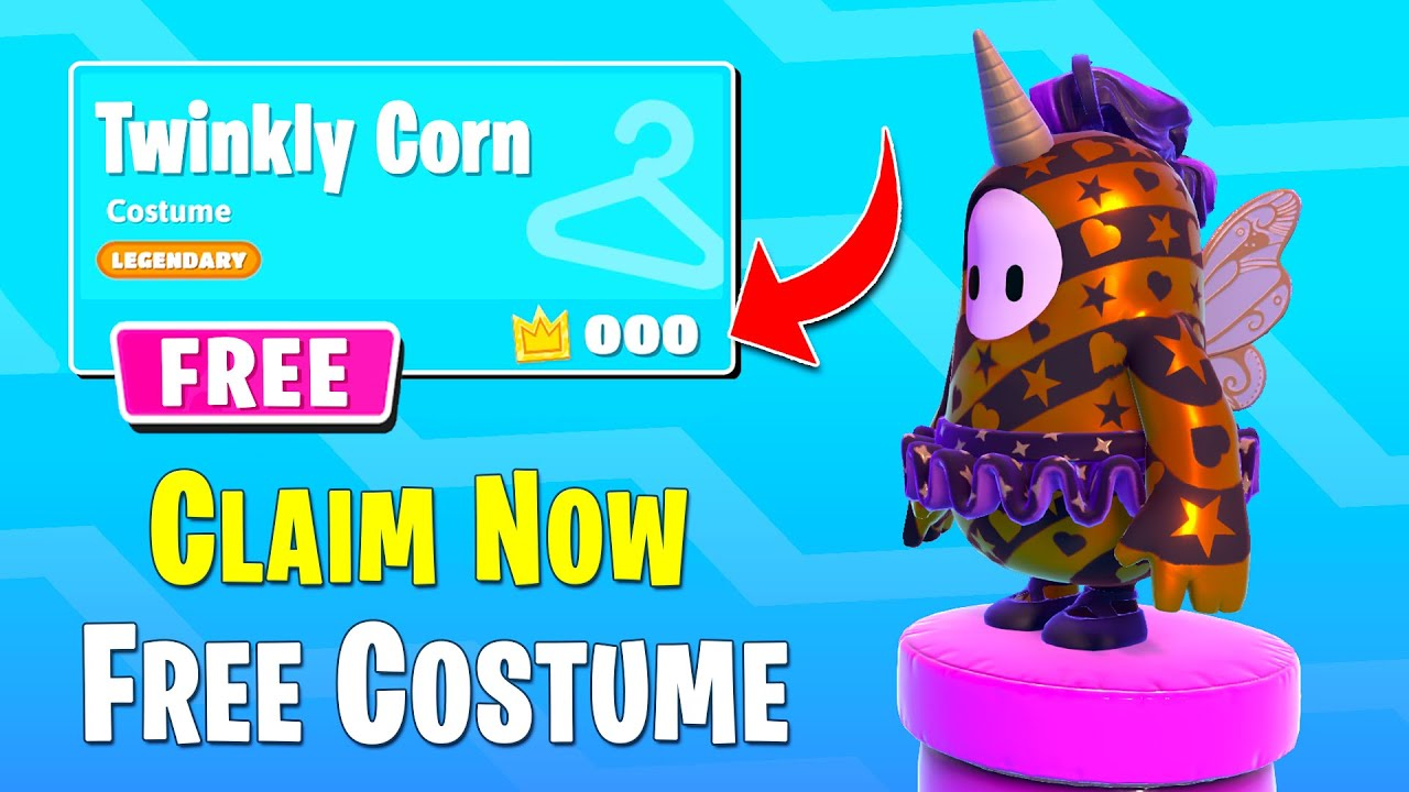 HOW TO GET FREE COSTUME - FALL GUYS WTF & Funny Moments & Best Plays #73