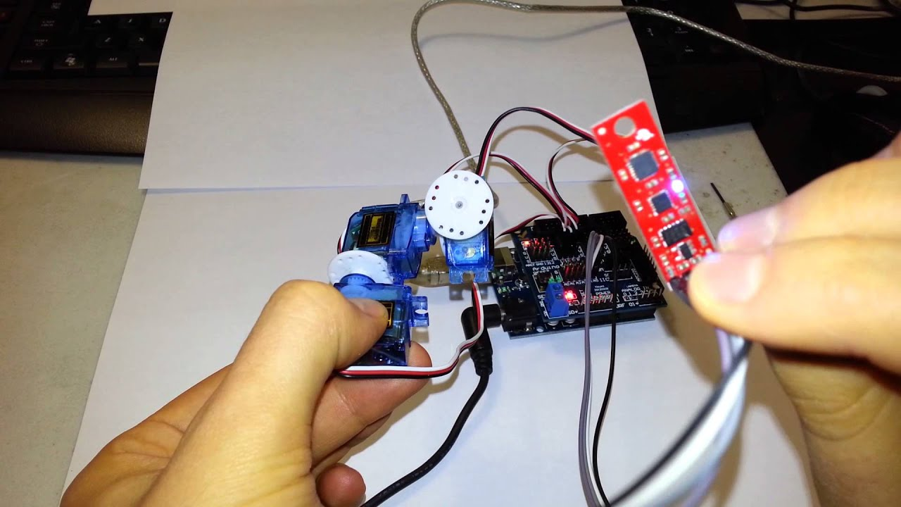 Measuring Magnetic Field with Robotic Arm - YouTube