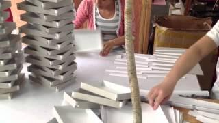 видео изготовление коробки