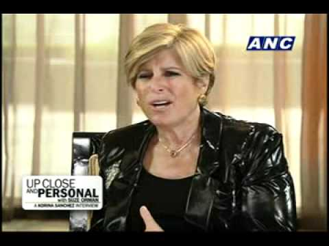 ANC Up Close and Personal with Suze Orman: A Korina Sanchez Interview 3/3
