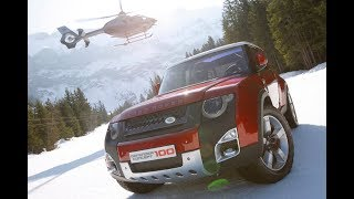First Look Of New Land Rover Defender (DC100) Concept 2018