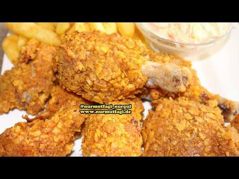 Kfc Tavuk nasil yapilir evde en lezzetli citir Kfc tavuk tarifi, Nurmutfagi NurGüL