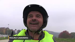 Moto Enduro a San Giacomo di Roburent