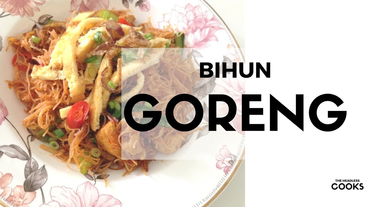 Simple Easy Resipi Bihun Goreng Fried Vermicelli Noodles