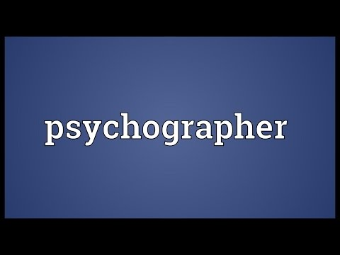 Header of psychographer