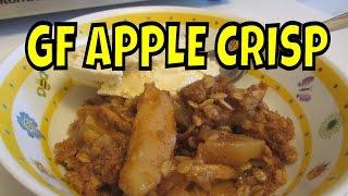 Apple Crisp With Oatmeal ~ Gluten Free