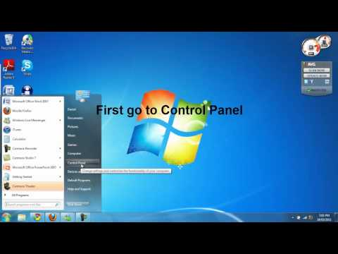 How to disable program updates in windows 7