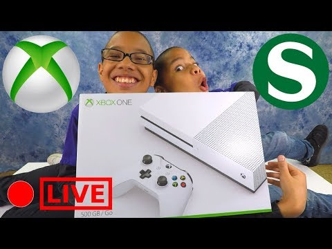 KIDS UNBOX XBOX ONE S Unboxing Fun