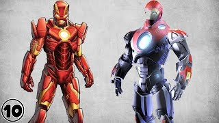 Top 10 Alternate Iron Man Suits - Part 3