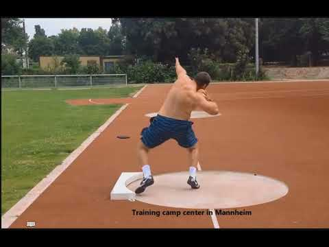Shot Put: Drill to help middle to finish