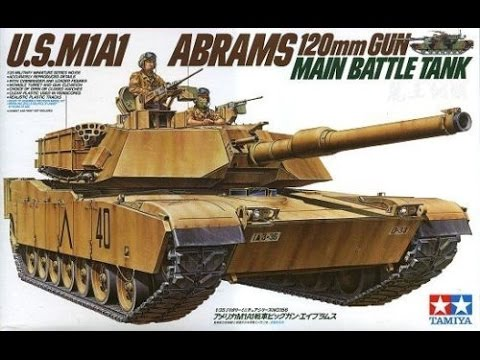#2 (all time) Tamyia 1/35 M1A1 Abrams - In box review
