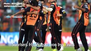IPL Final 2016   RCB vs SRH   SRH Won By 8 Runs   Full match