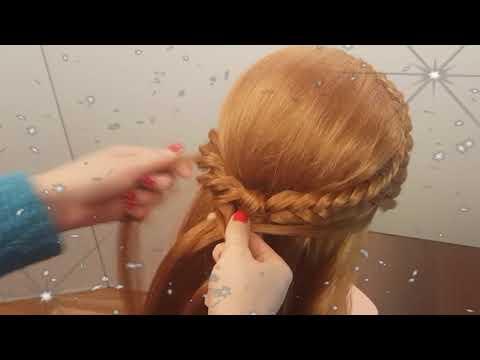 прическа на 1 сентября причёска девочке в школу красивые косы можно с бантами