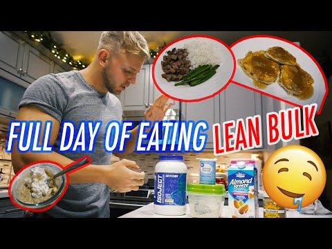 full-day-of-eating-|-lean-bulk-|-3-ingredient-protein-pancakes-recipe!-2,800-calories