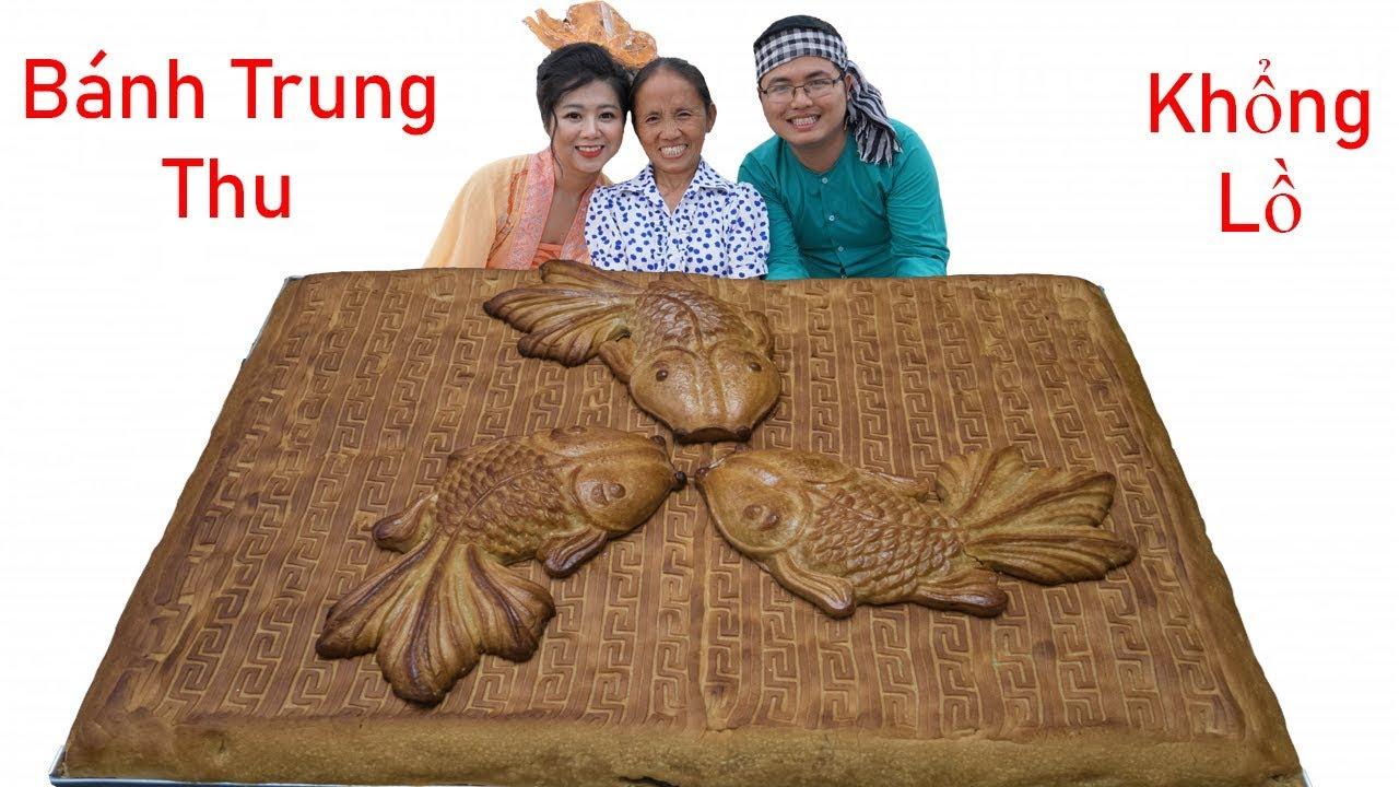 Bà Tân Vlog - Làm Bánh Trung Thu Thập Cẩm Khổng Lồ Phá Cỗ Trên Trời Cùng Chị Hằng & Chú Cuội