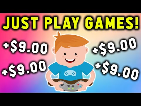 Make $9.00 Every 15 Minutes Just PLAYING GAMES! (FREE PayPal Money)