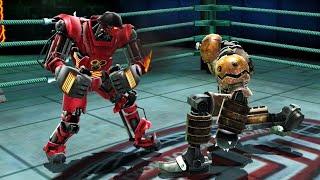 REAL STEEL WRB Blacktop VS Hollowjack & Tackle & Bio War & Blockbuster