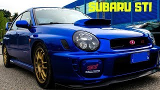 Subaru WRX STI - Test Drive by Six Wheels!! Paurosa!