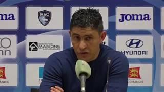 Après HAC - GFC Ajaccio (2-2), réaction d'Oswald Tanchot
