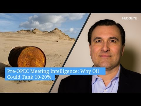 Pre-OPEC Meeting Intelligence: Why Oil Could Tank 10-20%