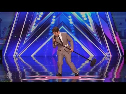 America's Got Talent 2016 Daniel Joyner Makes An Old Song New Full Audition Clip S11E06