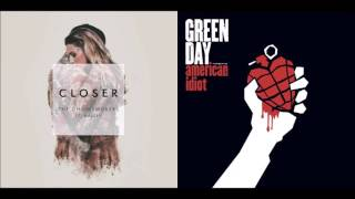 Closer To Broken Dreams - The Chainsmokers vs Green Day (Mashup) Video