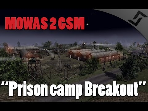 Men of War: Assault Squad 2 - Prison Camp Breakout - GSM - France 1940