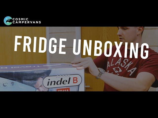 Indel TB41 Portable Fridge UNBOXING
