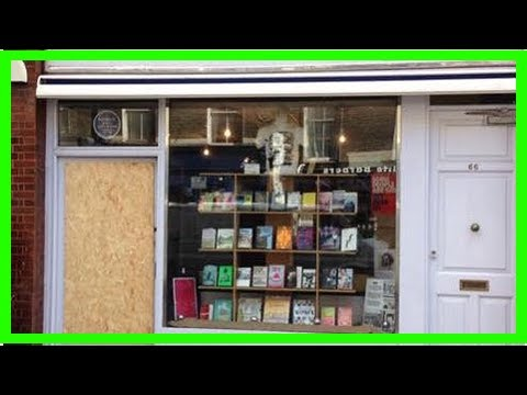 Breaking News | Attitude.co.uk | Gay and lesbian bookshop Gay's the Word has window smashed
