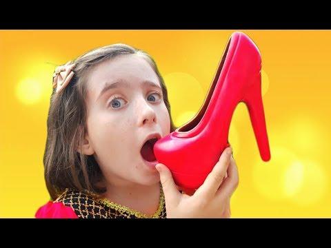 Princess Real Chocolate Shoe Smash- Skit