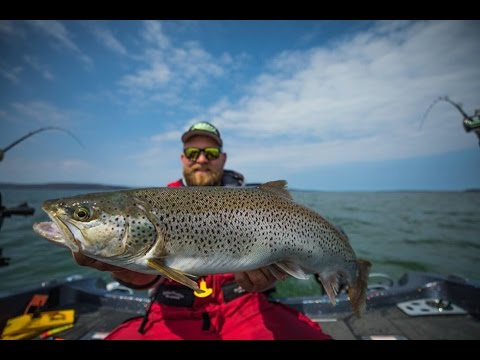 Superior Angling Season 1 Episode 12 - Lake Superior Brown Trout And Salmon!