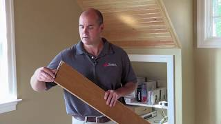 How To Install An Exotic, Click-lock, Floating Hardwood Floor