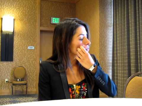 Interview With Sarah Shahi of Person of Interest - Comic Con 2013