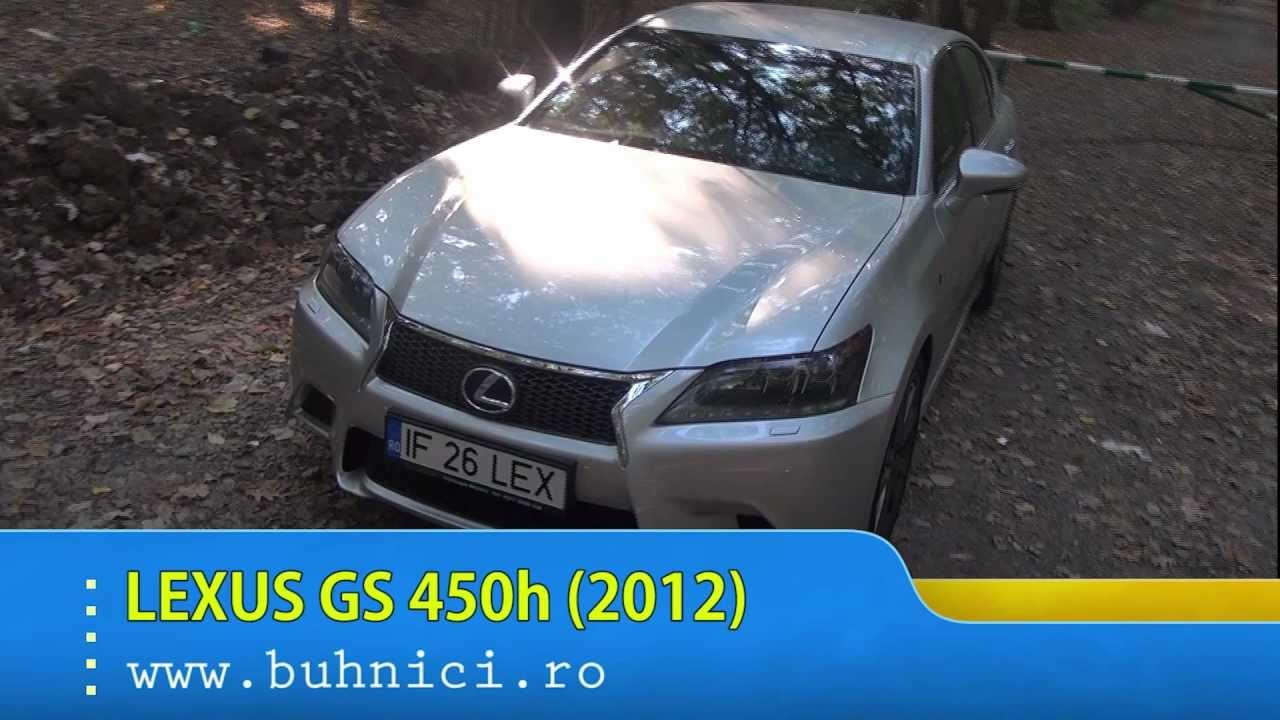 Lexus GS 450h (2012) (www.buhnici.ro)