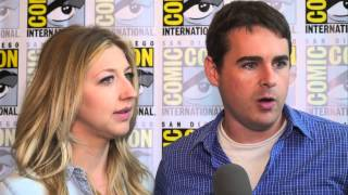 connectYoutube - Heidi Gardner and Tucker Gilmore talk about Super Mansion at Comic-Con 2015