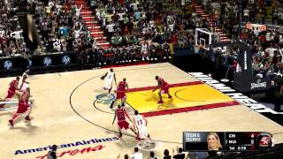 NBA 2K11 Gameplay Bulls Vs. Heat PC HD